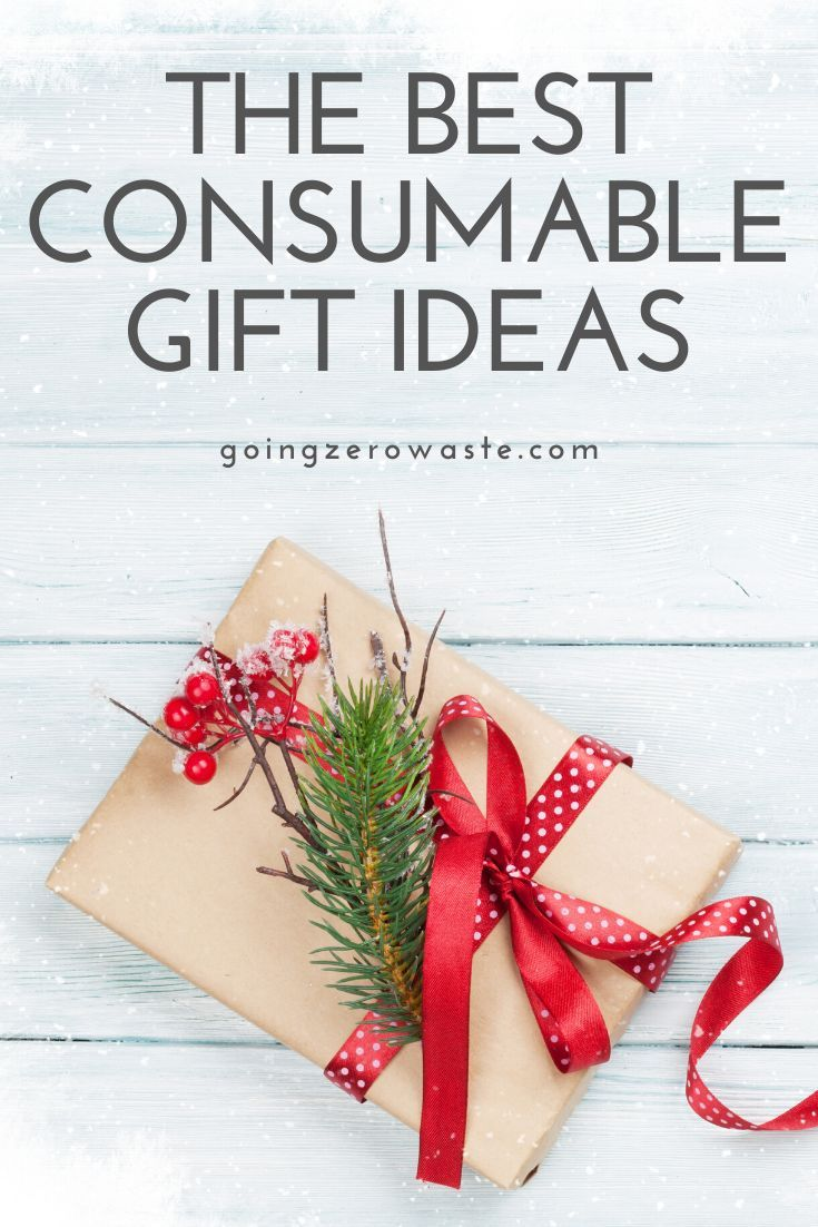 75 Consumable Gift Ideas Going Zero Waste Gifts Christmas Gift Guide Christmas On A Budget