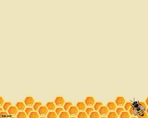 Bee PowerPoint Template is a honey template for PowerPoint that you can use for presentations where you need honey background or bee backgrounds