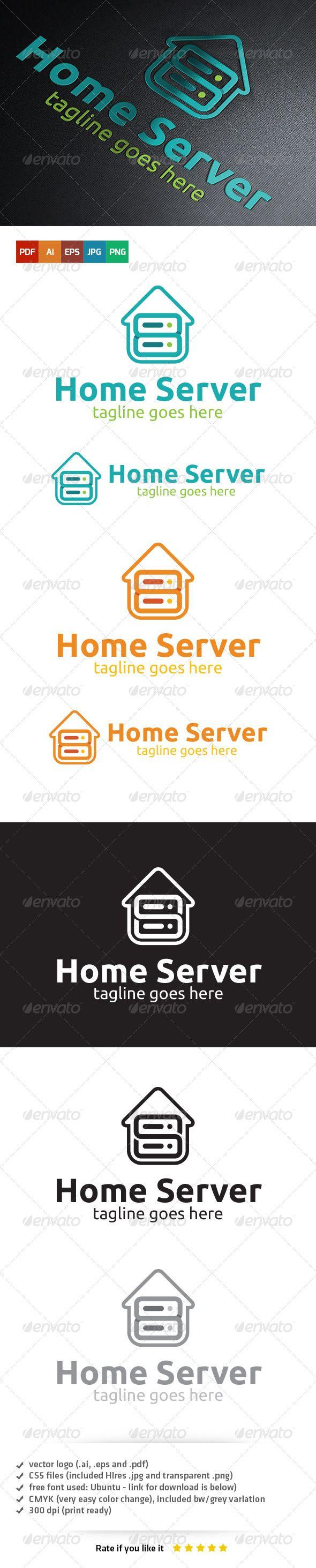 63 best logo templates images on pinterest logo templates font home server logo template
