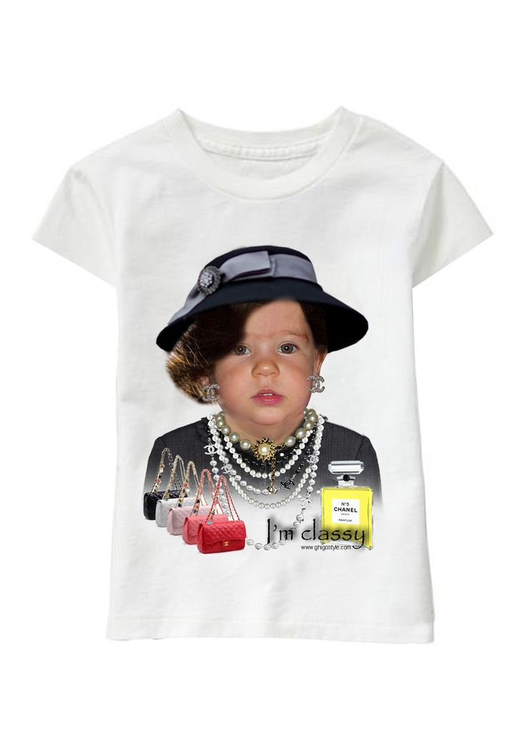 Mademoiselle C personalized T-shirt www.ghigostyle.com