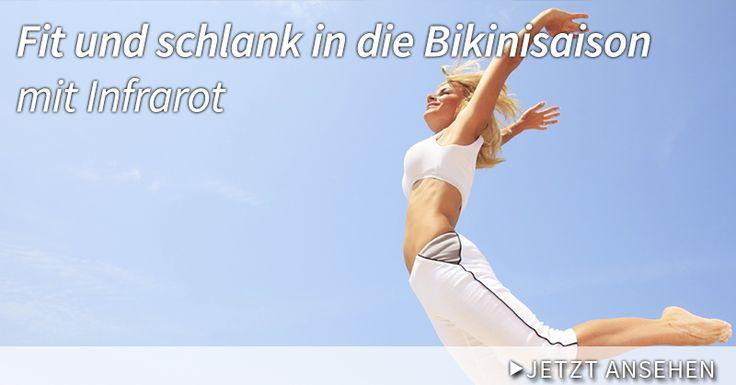 Fit und schlank in die Bikinisaison mit Infrarot