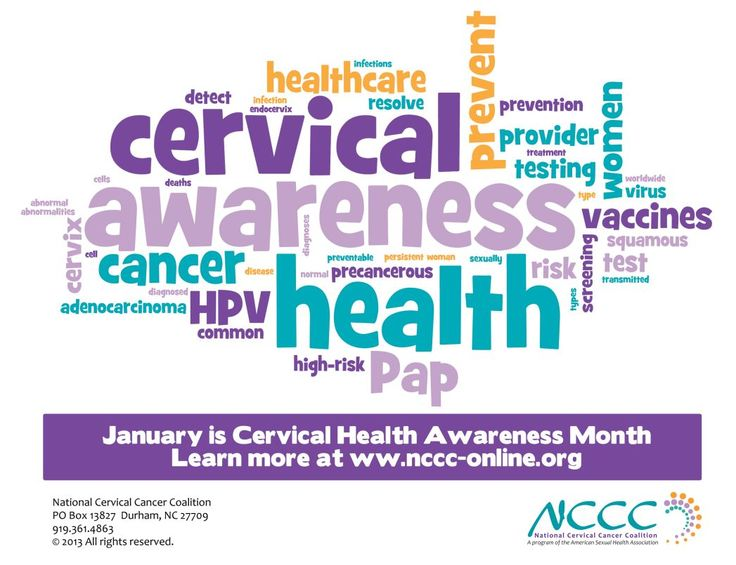 If you need any assistance, please feel free to contact me. cervical cancer awareness month | January is Cervical Cancer Awareness Month