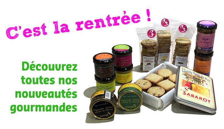 C'est la rentrée mais il est encore temps de profiter des nouveautés Sabarot, à découvrir sur notre e-shop ou dans notre espace de vente au Puy en Velay
