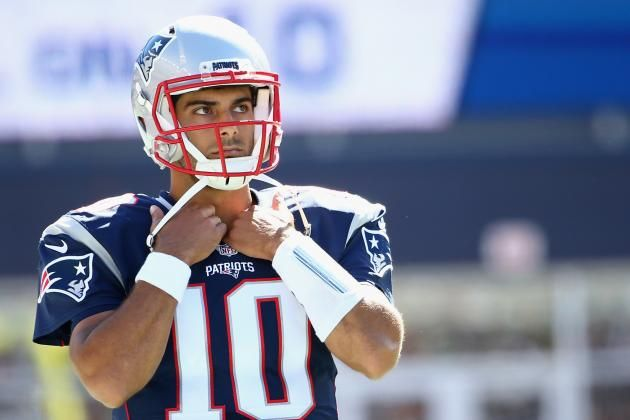 Jimmy Garoppolo Injury: Updates on Patriots QB's Shoulder and Return