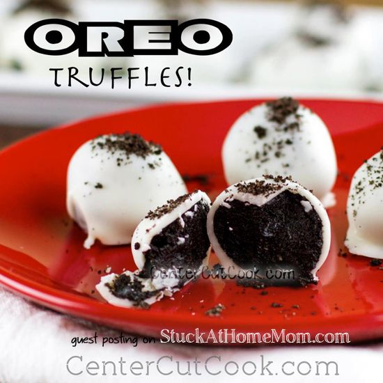 Delicious Oreo Truffles Recipe [Only 3 ingredients] #oreo #recipe  [REPIN]