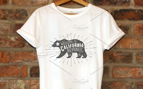 Vintage California Republic by 1baranov on @creativemarket
