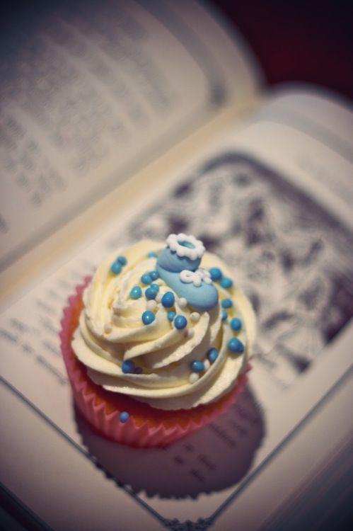 New baby cupcake @ Ten to Three Bakery