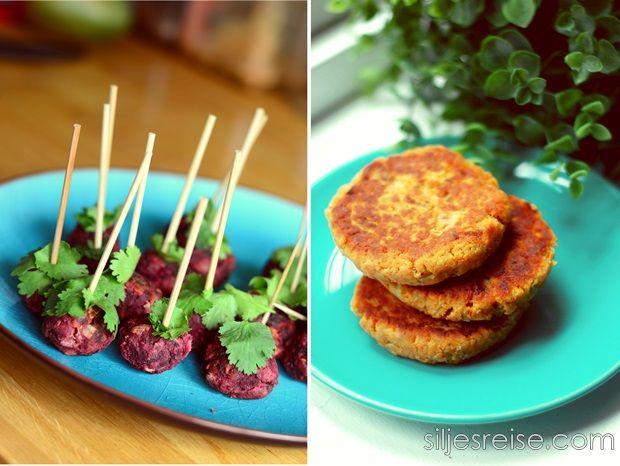 Kjøttfri mandag: Søtpotetburger