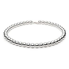 Collana Tiffany Beads, in argento.