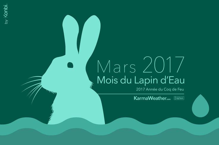 Horoscope mars 2017 - Horoscope chinois gratuit et complet du Mois du Lapin d'Eau 2017