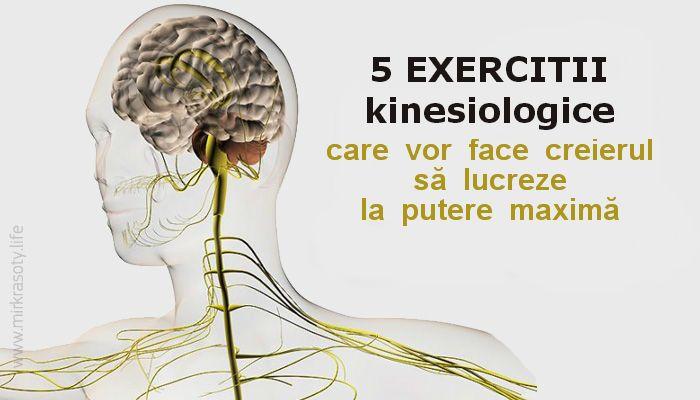 Kinesiologia – este știința despre dezvoltarea abilităților mentale și sănătății fizice prin exerciții motorii. Aceasta include o combinație de cunoștințe teoretice și practice din naturopatie, fizioterapie, acupunctură, chiropractică, medicină orientală, homeopatie etc. Cu ajutorul tehnicilor de kinesiologie, se optimizează procesele mentale de bază (memoria, atenția, gândirea, vorbirea, auzul, imaginația, percepția) se îmbunătățesc performanțele mentale şi …