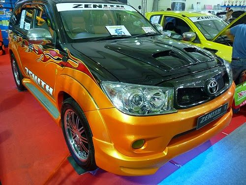 Foto Modifikasi Mobil Toyota Fortuner
