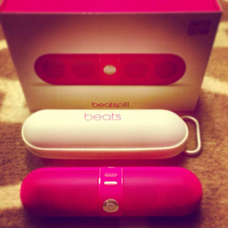 Pink beats pill