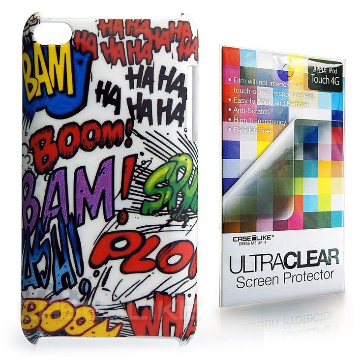 CaseiLike®, A04C2700- Graffiti Boom Bam, Snap-on hard: Amazon.co.uk: Electronics