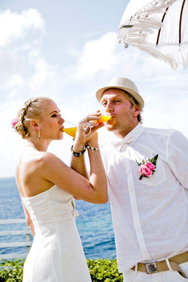 Wedding toust Aleksnder and Evgeniia with Romantic Bali Wedding