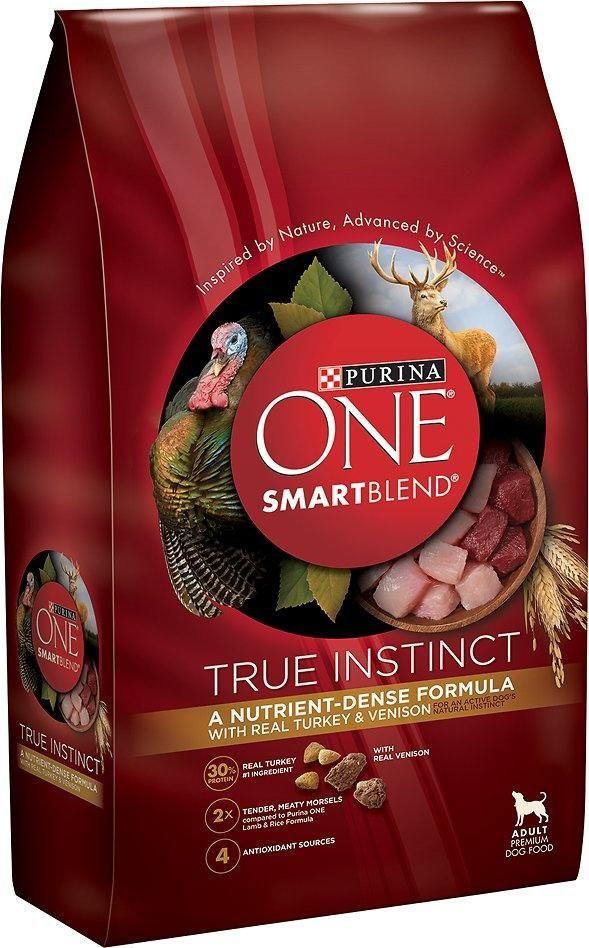 Purina One Smartblend True Instinct Real Turkey Venison Adult