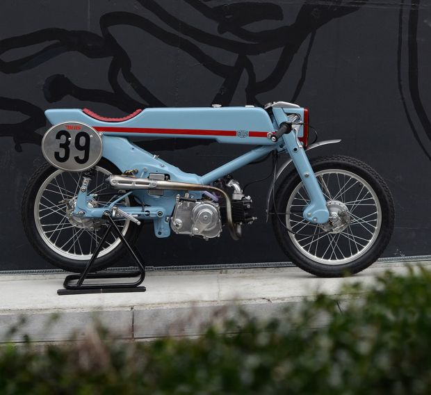 1961 Honda Super Cub revamp by Deus Ex Machina