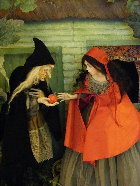 Anna Brahms dollmaker Fairy Tales Snow White