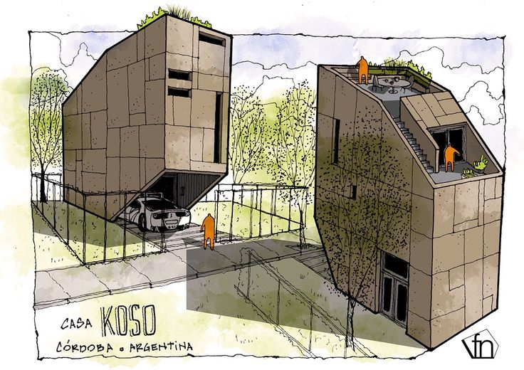 Surrealist Illustrations : Casa KOSO : Nikica Pavlovic | Visualiser : Fer Neyra