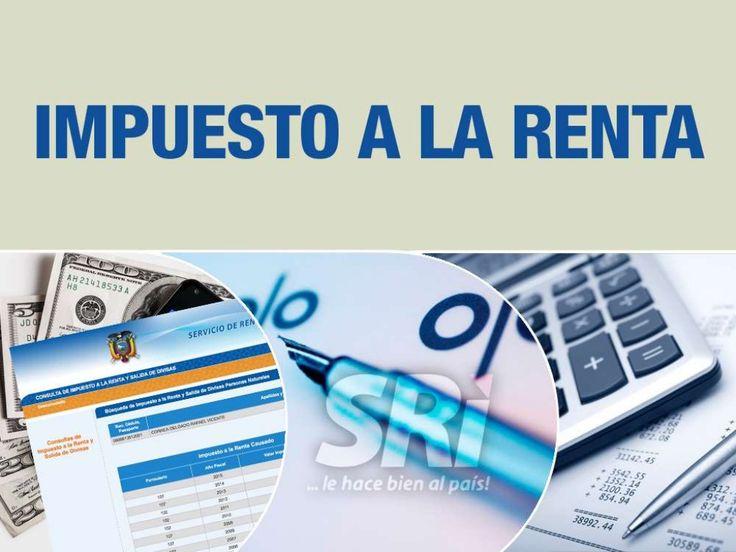 EC 430 Tema:  impuesto a la renta enriquecimiento ilícito final by Presidencia de la República del Ecuador via slideshare