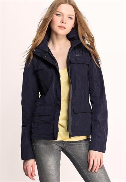 Куртка темно синяя женская