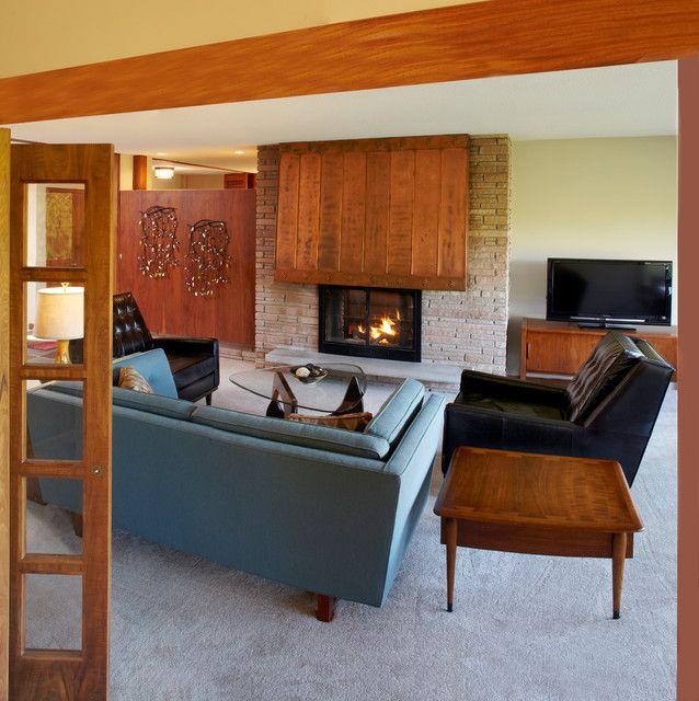 321 best Mid Century Living Room images on Pinterest   Living room ...