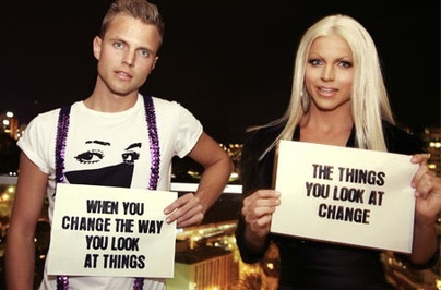 Courtney Act and Shane Jenek