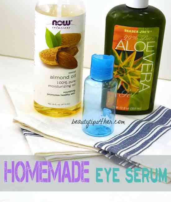Super Simple Homemade Miracle Eye Serum   Beauty and MakeUp Tips