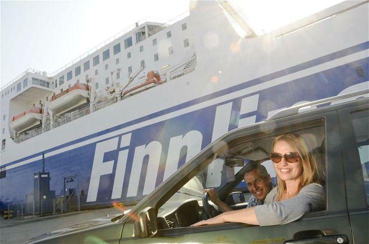mit Finnlines geht es bis nach Helsinki
