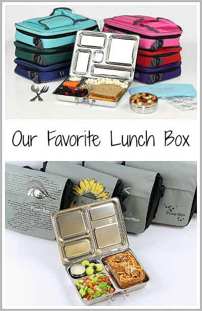 Our Favorite Lunch Box (It's lasted us 3 YEARS!)~ PlanetBox