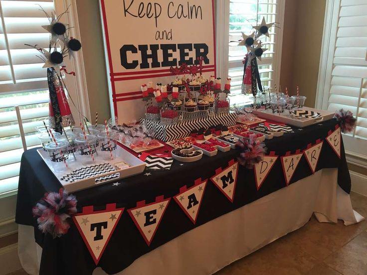 TEAM DARE Cheerleading Kickoff Party | CatchMyParty.com