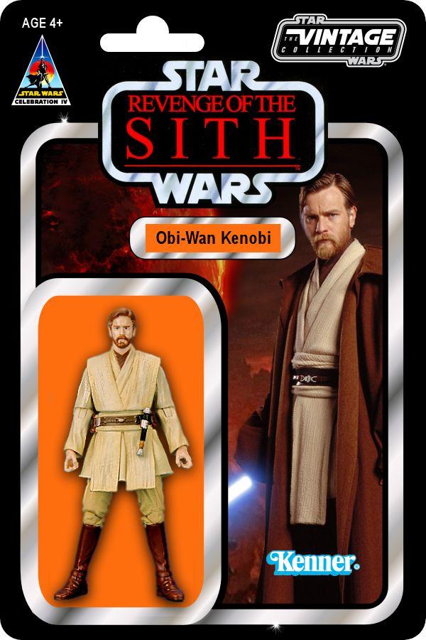Full Vintage Card Concept Obi Wan Kenobi Revenge Of The Sith Obi Wan Kenobi Kenobi Obi Wan