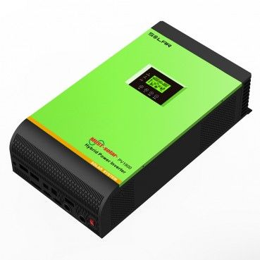 PH1800 MPK Series High Frequency Solar Inverter This is a multi-function inverter/charger,combining functions of inverter,solar charger and battery charger to offer uninterruptible power support with portable size. Its comprehensive LCD display offers user-configurable and easy-accessible button operation such as battery charging current,AC/solar charger ... http://www.must-solar.com/pv1800-mpk-series-high-frequency-solar-inverter/