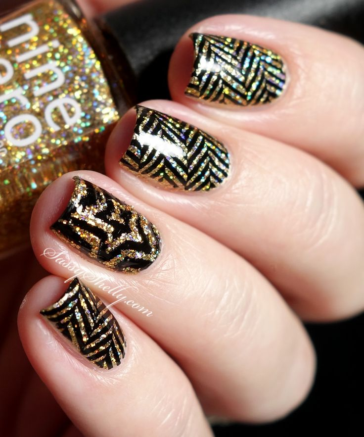 Girls Nail Art New Dizains: 1000+ Ideas About New Year's Nails On Pinterest