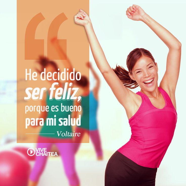 La felicidad es una de las bases para tener una buena salud. ¡Vive Chaitea!