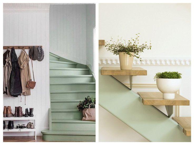 Les 25 meilleures id es de la cat gorie cage d escalier for Decoration interieure papier peint