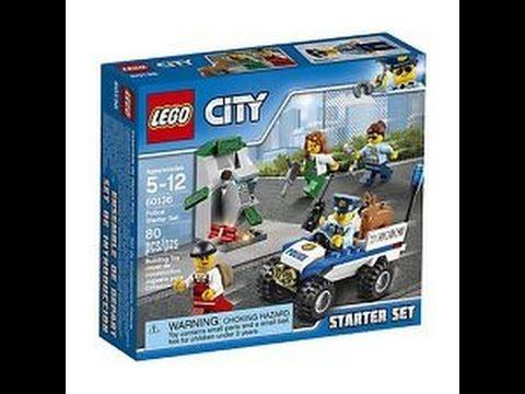 (537) LEGO City Police Police Starter Set 60136 - YouTube
