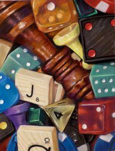 board game still life - Google Search