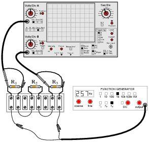 Basic Oscilloscope Operation : AC Electric Circuits