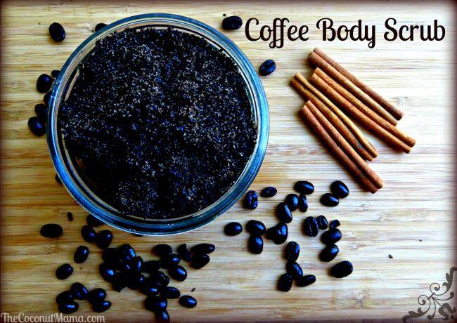 Antioxidant Coffee Body Scrub with Coconut Oil – The Coconut Mama