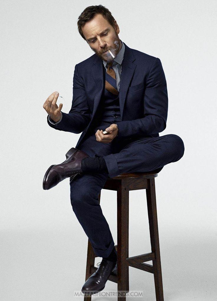 Michael Fassbender para Esquire USA Diciembre/Enero 2017