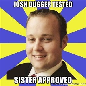 josh dugger tested sister approved | Smuggar