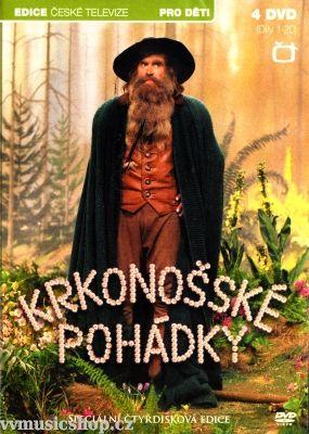 Večerníček České televize Krkonošské pohádky na DVD z Edice České televize.