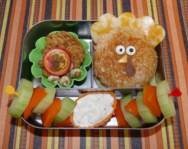 Fun Turkey Sandwich Lunchbots Lunch Ideas