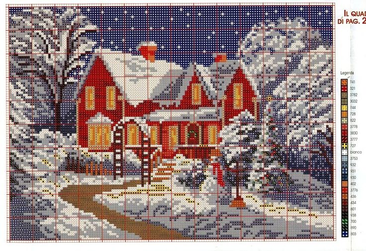 Cross Stitch *<3* Winter