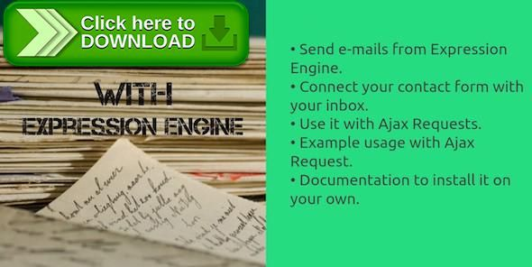 [ThemeForest]Free nulled download Mail Sender Template for Expression Engine from http://zippyfile.download/f.php?id=48301 Tags: ecommerce, custom, e-mail, e-mail script, email library, expression engine, file, form, mail sender, php, script