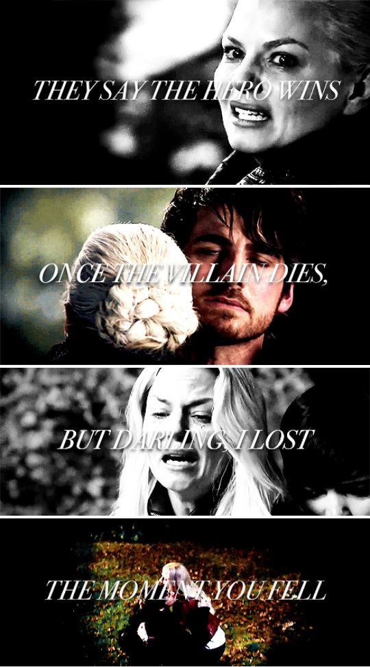 - and, god, I wish I'd fallen with you… #ouat<<<OUCH. THAT REALLY HURTS.