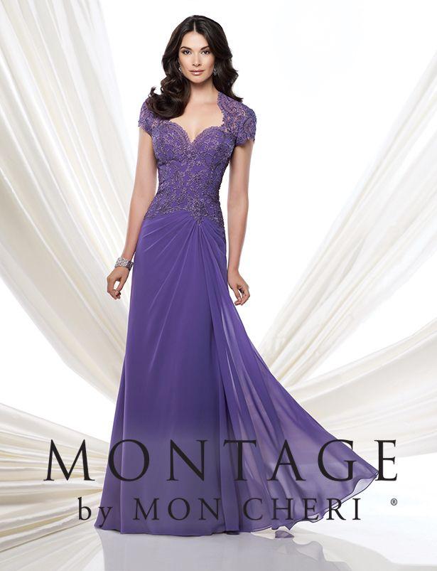 Elegantes Vestidos para la Mamá de la Novia por Mon Cheri Bridals - Bodas