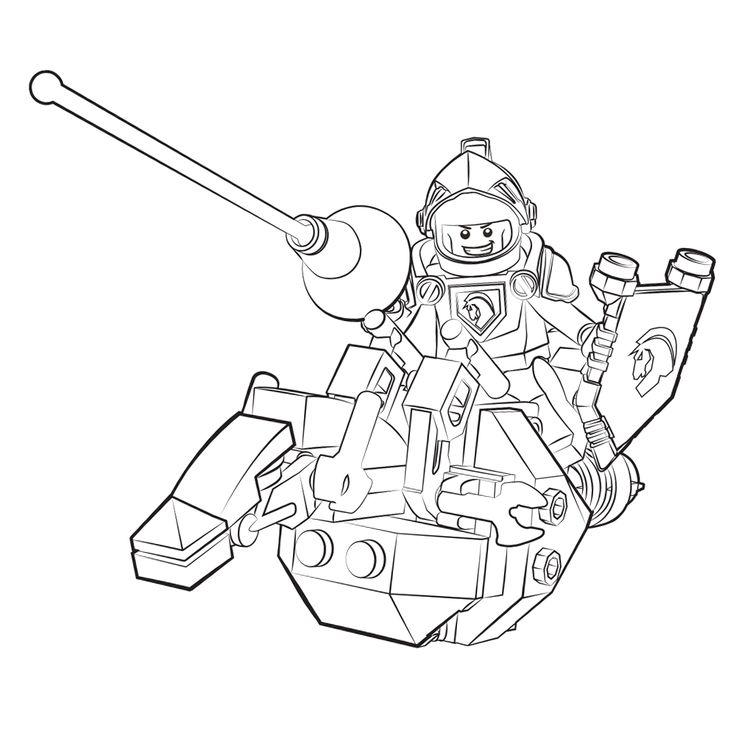 leuk voor lego nexo knights ridder lance thema