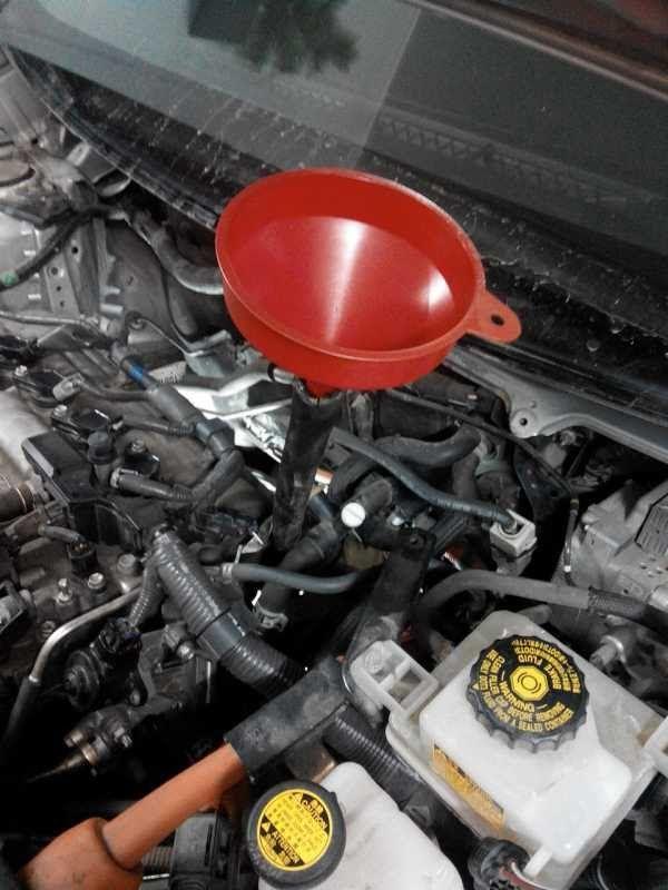 Тойота Приус 30  Замена масла в КПП